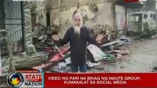 SONA: Video ng pari na bihag ng Maute group, kumakalat sa social media