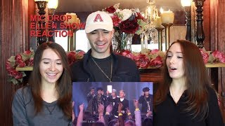 BTS Let the 'Mic Drop' & Ellen Makes 'Friends' with BTS! | Twins & Brother React YOUTUBE