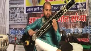 Pt. Dhruv Tara Joshi Sastrya Sangeet Sandhya . Rachna Diwas Mahotsav - 2015