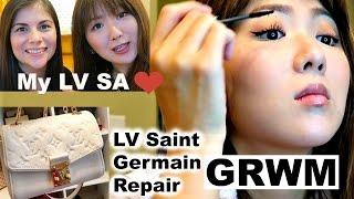 VLOG-35 weeks Preg+GRWM+My LV SA+Saint Germain Issue+Rain+Pet Store