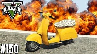 MONSTER TRUCK PARCOUR & EXTREME FAGGIO RENNEN !  (+DOWNLOAD) | GTA V - CUSTOM MAP RENNEN