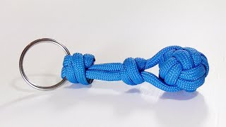 How To Tie To A Keyring With The Double Connection Knot