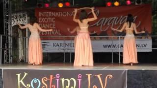 Dance with Blade. International Exotic Festival - Caravan. Dance group - Sezam. Latvia, Riga 2012