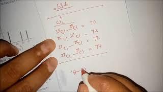 A Level (AS) mass spectroscopy worksheet-1 part 1
