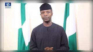 Democracy Day Speech: The Northeast Is Springing Back To Life Osinbajo
