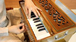 Accordion on the 22 Shruti Harmonium.avi