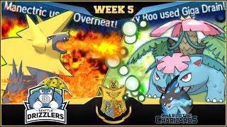 GET THE GUNK OUT OF MY EYES! Seattle Drizzlers vs. Carolina Charizards! APA Season 5 - Week 5