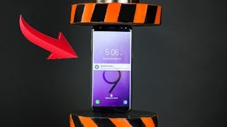 HYDRAULIC PRESS VS SAMSUNG GALAXY S9 AND TOYS   The Crusher