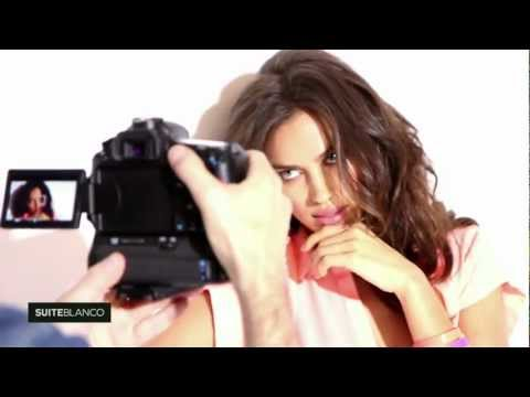 Irina Shayk for SUITEBLANCO Behind the Scenes. ShaykRonaldo
