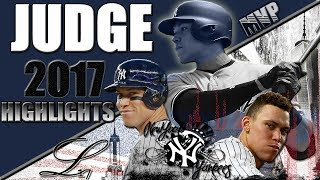 Aaron Judge 2017 Rookie Highlights || The Face of Baseball || ᴴᴰ