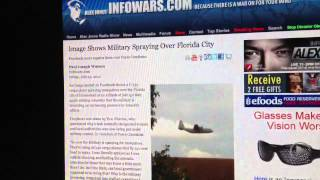MISINFORMATION: Army And Air Force Are Spraying Bug POISON. Target On Press And Public