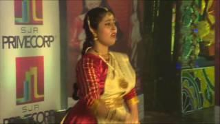 Priyanka R - Kaahe Chhed Chhed Mohe from Devdas (PBCA Durga Puja 2016 - Kathak Peformance Part 3)