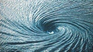 Dangerous Ocean Whirlpool!
