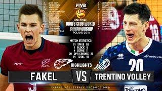 Fakel Novy Urengoy vs. Trenino Volley | Semifinal | Highlights | FIVB Club World Championship 2018