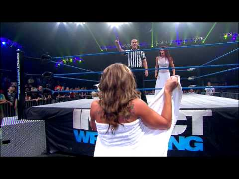 The Knockouts Evening Gown Match Madison Rayne vs. Angelina Love