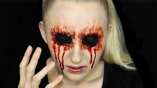 Easy Missing Eye Halloween Makeup Tutorial
