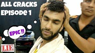 BEST Head Massage Barber (Back, Ear, Neck Crack) 🇮🇳| Oil Massage | Massage ASMR No Talking