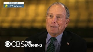 """Mike Bloomberg denies """"buying"""" the 2020 Democratic nomination"""