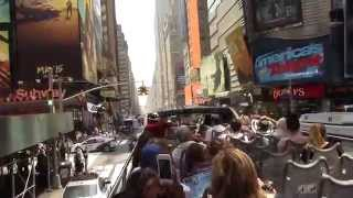 New York City Big Bus Tour Uptown & Downtown BEST OF! ~ NostalgiaVHS