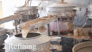 porcelain production progress