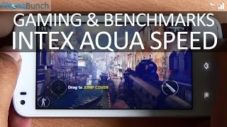 Intex Aqua Speed Gaming Review and Benchmarks