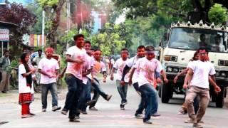 মনন'১২ Street Dance: B.A.U. FOOD ENGINEERS' RAG DAY-2016