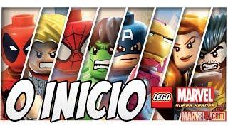 Lego Marvel Super Heroes O Início HULK ESMAGA