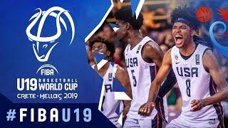 USA's victory over Mali! | Gold Medal - Highlights - FIBA U19 Basketball World Cup 2019
