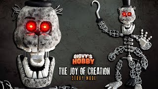 CREATION (LED Eyes) ★ TJOC: STORY MODE  ➤ Tutorial - Polymer clay ★ Cold porcelain ✔ Giovy Hobby