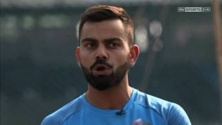 Batting Masterclass | Virat Kohli's batting demo with Nasser Hussain