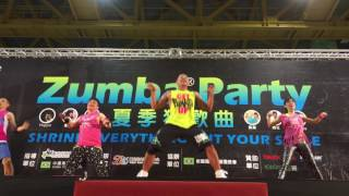 2016 DAAN Zumba Party warm up