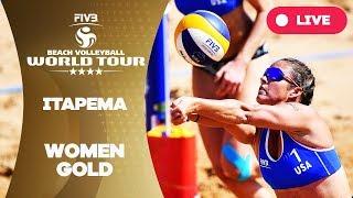 Itapema 4-Star - 2018 FIVB Beach Volleyball World Tour - Women Gold Medal Match