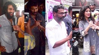 Abrahaminte Santhathikal   FDFS   Audience Response   Mammootty , Haneef Adeni