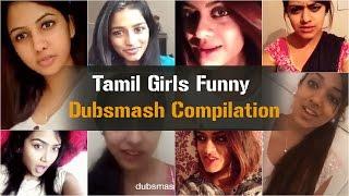 Tamil Girls Funny Dubsmash Compilation | Part 1