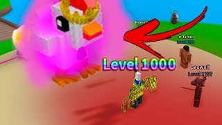 WHAT HAPPENS AT LEVEL 1,000 *RECORD* (Roblox Egg Hatching Simulator)