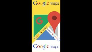 Measure distance between two points Google Maps HD