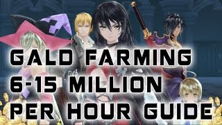 Tales of Berseria Best/Fastest Way To Earn Gold (10 Million Per Hour) Can Be Done Super Early