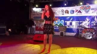 دوللي شاهين تحيي إحتفالات البحر الأحمر بعيدها القومي