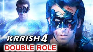 Hrithik Roshan To Have DOUBLE Role In Krrish 4