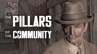 The Pillars of the Community Cult at the Charles View Amphitheater - Fallout 4 Lore