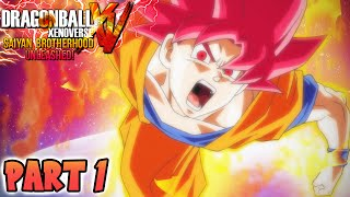 Dragon Ball Xenoverse - Part 1 (DBZ Xenoverse Walkthrough)