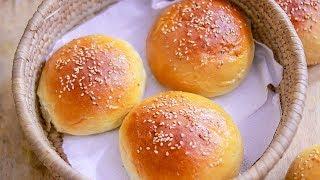 Eggless Bun Recipe || Homemade Bun Recipe || Burger Bun Recipe