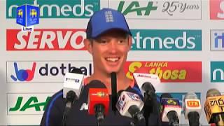 2nd Test : Day 4 Post Match Media Conference - England tour of Sri Lanka 2018