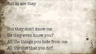 my happy ending by Avril Lavigne (lyrics video)