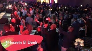 حسين الديك - حفل عيد الميلاد / السويد ستكهولم