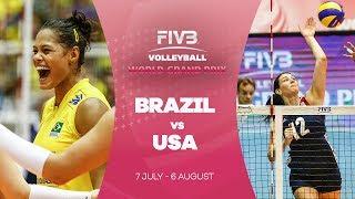 Brazil v USA highlights - FIVB World Grand Prix