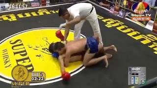នូវ ដារ៉ូ ប៉ះ ថងប្រាន ២៦(ថៃ) Khmer Boxing, Kun Khmer, Bayon Boxing