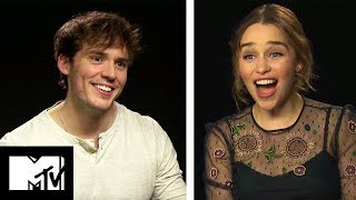 Emilia Clarke and Sam Claflin Go Speed Dating! | MTV