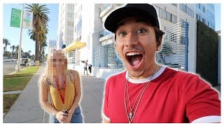 MEETING MY TINDER DATE FOR THE FIRST TIME!!