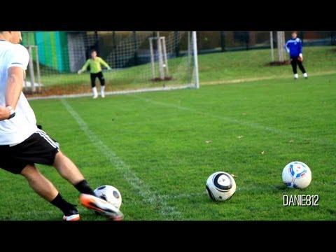 THE Football Free Kick Battle PRO vs YOUTUBER